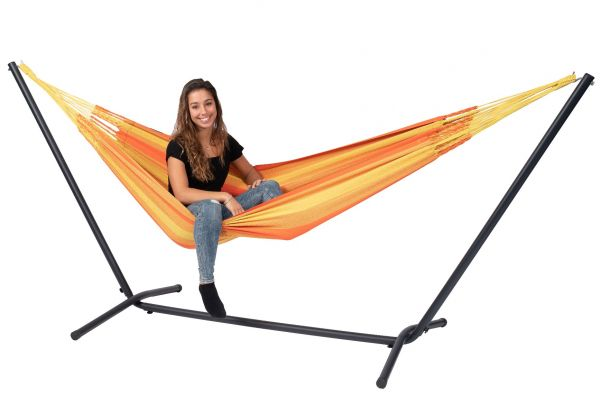 Cama de Rede com suporte para 1 pessoa Easy & Dream Orange