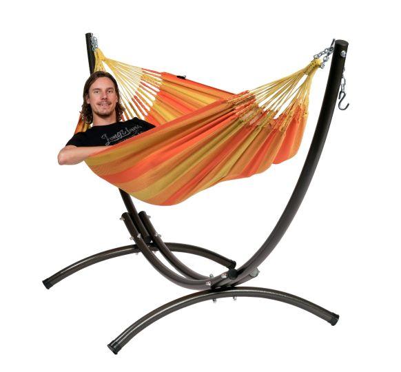 Cama de Rede com suporte para 1 pessoa Arc & Dream Orange